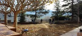 S'ha renovat el mobiliari urbà en la seva totalitat al Parc del Cadí.