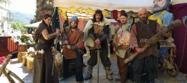 El Mercat Medieval dels Canonges ha tingut lloc el cap de setmana passat.