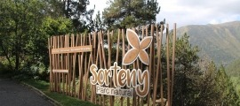 Entrada del parc natural de Sorteny.