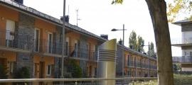 Una de les zones residencials de la capital alturgellenca.
