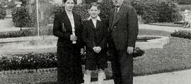 Hella, Nathan i Jacob Neeman, el 1936 a la localitat polonesa de Kudowa: encara els quedaven dos anys de relativa normalitat.