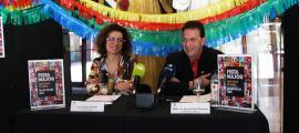 Laura Rogé, cap de Cultura i Josep Lluís Donsión, conseller de Cultura de Sant Julià de Lòria, han presentat la festa major.