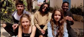 Andorra, Escaldes, Kids UNited, Zygel, saison, temporada francesa, improvisació, on écrit sur les murs le nom