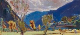 'Prats de Santa Coloma' (1932), de Joaquim Mir, serà la imatge de 'Talents amb denominació d'origen'.