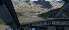 Projecció de l'aeroport de Grau Roig impulsat per la Cambra de Comerç.