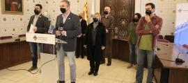 """Jordi Fàbrega va qualificar ahir d'""""històrica"""" la unanimitat amb què es van aprovar els pressupostos del 2021."""