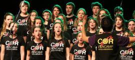 El Canòlich Music es reinventaEl Cor Rock, impulsat per l'escola andorrana d'Encamp i dirigit per Jordi Porta, cantarà la nit de dissabte al Canòlich.