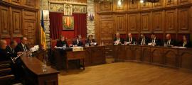Un moment del consell de Comú celebrat ahir a Sant Julià de Lòria.