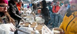 L'equip de cuiners per a l'escudella de la Massana s'amplia enguany