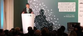 El president de la Trobada, Vicenç Voltes, va afirmar que el temps actual necessita noves reformes.