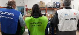 El Gran Recapte es fa gràcies a la col·laboració dels voluntaris.