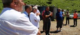 Un moment de la trobada del comitè de pilotatge del Sapyra.