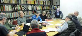 La comissió està integrada per deu experts: Xavier Llovera, Berna Garralà, David Mas, Abel Fortó i Joan Bellera, per part de Patrimoni, i Enric Dilmé, Valentí Turu, Joan Reguant, Olivier Poisson i José Luis González Moreno-Navarro. No se sap quan es tornarà a reunir.