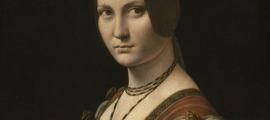 'La Belle Ferronière', de Leonardo.