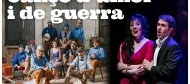 La cobla dels sons essencials, amb Jonaina Salvador i el tenor Beñat Egiarte.