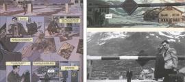 """'El fotógrafo de Mauthausen' parteix de la fotografia de Boix a la barrera de la duana francesa del Pas de la Casa, datada el 9 de juny del 1948. El mateix Boix hi va escriure al revers, referint-se a la seva germana Núria: """"Vendrá en este autobús de las 8?"""" El guionista ha convertit la frontera francoandorrana del Pas en duana hispanofrancesa."""