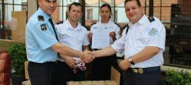 Dos bombers andorrans van participar en la delegació que va viatjar a Colòmbia.
