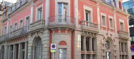 L'edifici que alberga la seu del Consell Comarcal de l'Alt Urgell.