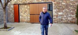 El president d'ASAJA, Pere Roqué, va declarar ahir al jutjat de Tremp en relació al cas.