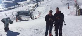 La periodista de la revista francesa va estar ahir a la Vall de Boí.