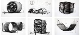 Projectes amb la carretera com a motiu que Balmaseda presenta a Art Busan.