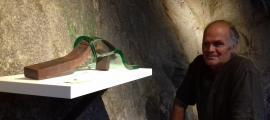 Ernest Altés treballa a 'Escultures minerals' el ferro, la pedra i per primera vegada el vidre.
