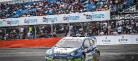 Llovera en una de les proves anteriors del Mundial de Rallycross.
