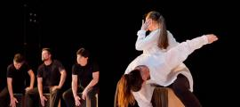 Una de les peces que ballarà aquesta nit el cos de dansa de l'Esbart Sant Romà.