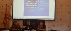 Els ciutadans ja poden fer propostes als pressupostos participatius 2017