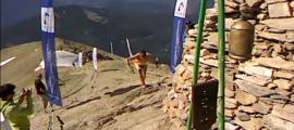 Un moment de la sisena edició de la Casamanya Extrem Vertical Race.