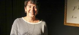 La cantant barcelonina va guanyar fa tres setmanes l'última edició del concurs de música d'autor de la Fada (a la fotografia).