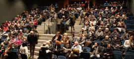 El pati de butaques del Teatre Comunal és el mateix des que va obrir l'equipament, el 1995.