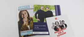 Els programes de les tres opcions que concorren a les eleccions comunals del 15 de desembre.