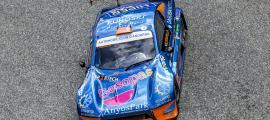 Edgar Montellà amb el seu Speed Car GTR en la Pujada Arinsal de l'any passat.