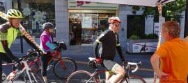 El candidat de DA és amant del ciclisme.