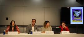 La presentació de la Festa de la Joventut va tenir lloc al Centre de Congressos.