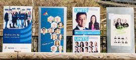 Cartells electorals d'Ordino.