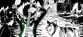 Caràtula del disc, amb la gossa Lumpa en primer terme: li ha dedicat tres cançons en un insòlit gir sentimental de El Sobrino.
