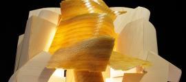 Maqueta del frustrat museu que Frank Gehry va projectar a la Massana el 2009.