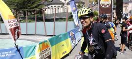 El guanyador de l'Andorra Bike Race, Guillem Muñoz.