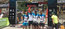 Els corredors de la FAM van fer un bon paper a la Vall de Boí.