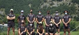 Foto de grup dels integrants dels equips de la FAE.