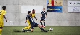 Un gol d'Enric Pi al minut 4 de la pròrroga va fer el pas a la final al Vall Banc.
