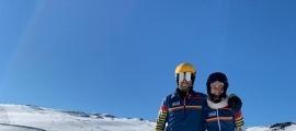 Lluís Marín i Maeva Estevez han tornat a trepitjar la neu a Les Deux Alpes.