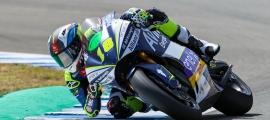 Cardelús ahir al circuit de Jerez.