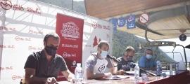 L'Skyrace Comapedrosa es va presentar ahir a peu del telecabina Josep Serra. Foto: Facundo Santana
