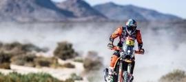 El resident Sam Sunderland va assolir la quarta posició a la primera etapa del Dakar. Foto: Instagram