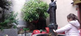 El Sant Esteve de Teruggi havia caigut a principis d'abril del pedestal.