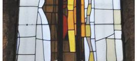Creu de Sant Pere Màrtir, que Dilmé creu el vitrall andorrà més atractiu de Vila-Grau.