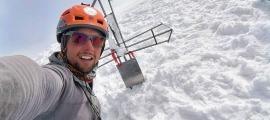 Gonzalo Fernández buscarà al juny fer el seu primer vuit mil amb l'ascensió al Gasherbrum II amb una expedició liderada per Lluís Cortadellas. Foto: Facebook